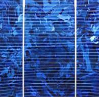 Solarzelle mit 2 Busschienen