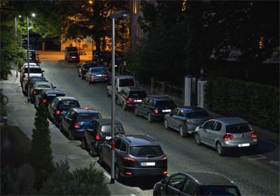 Straßenbeleuchtung, Straßenleuchte