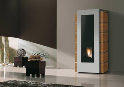 design pelletofen auf italienisch pelletsofen als zentralheizung. Black Bedroom Furniture Sets. Home Design Ideas