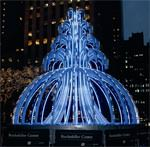 Electric Fountain am Rockefeller Plaza, New York, Sue Webster, Tim Noble, Michael Hammers Studios GmbH, Wesseling