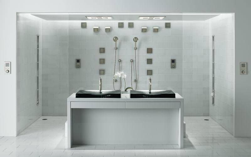 Ultimativ Duschen Mit Wasser Mp3 Licht Und Dampf Pictures to pin on ...