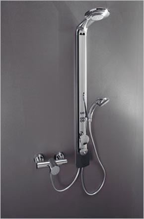 hansasmartshower mit neuen verw hnprogrammen duschsystem. Black Bedroom Furniture Sets. Home Design Ideas