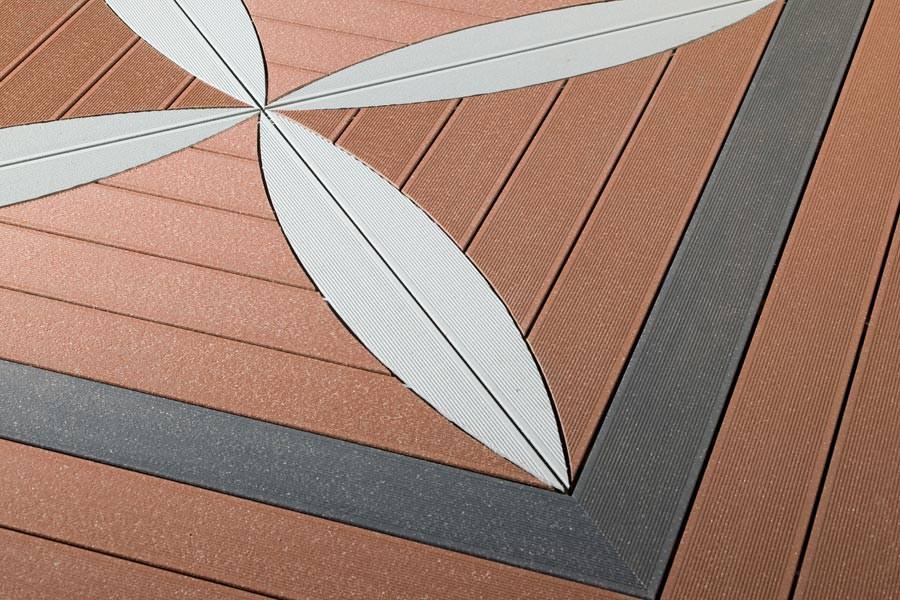 Holz Terrassenbelag Muster Verlegen Ideen Fur Holz Terrassenbelag ...