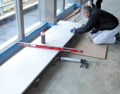 gipsfaser auch ein fall f r den boden fl chenhohlboden. Black Bedroom Furniture Sets. Home Design Ideas
