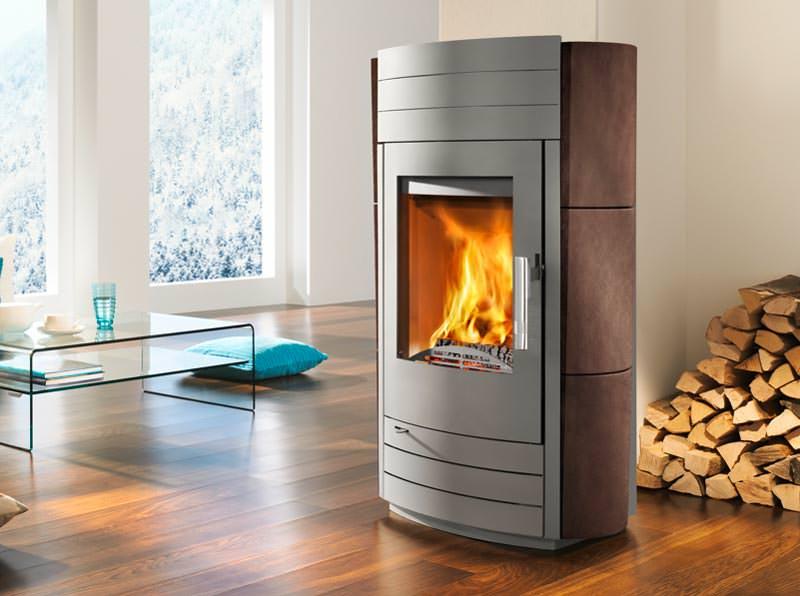 Neue Modelle Von Haas+Sohn: Der Kaminofen Als Möbelstück
