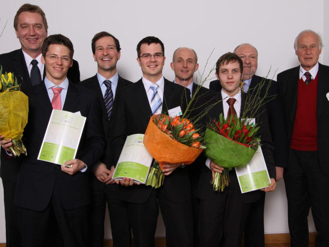Preisträger des Schöck Bau-Innovationspreises 2009
