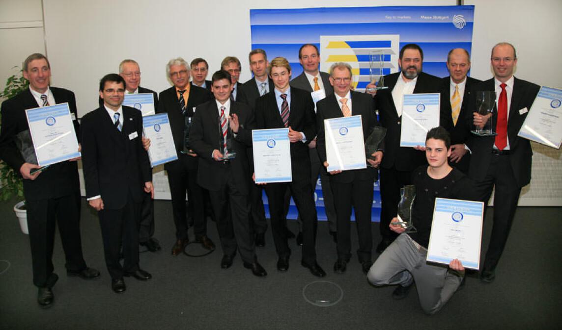 Preisträger des R+T Innovationspreises 2009