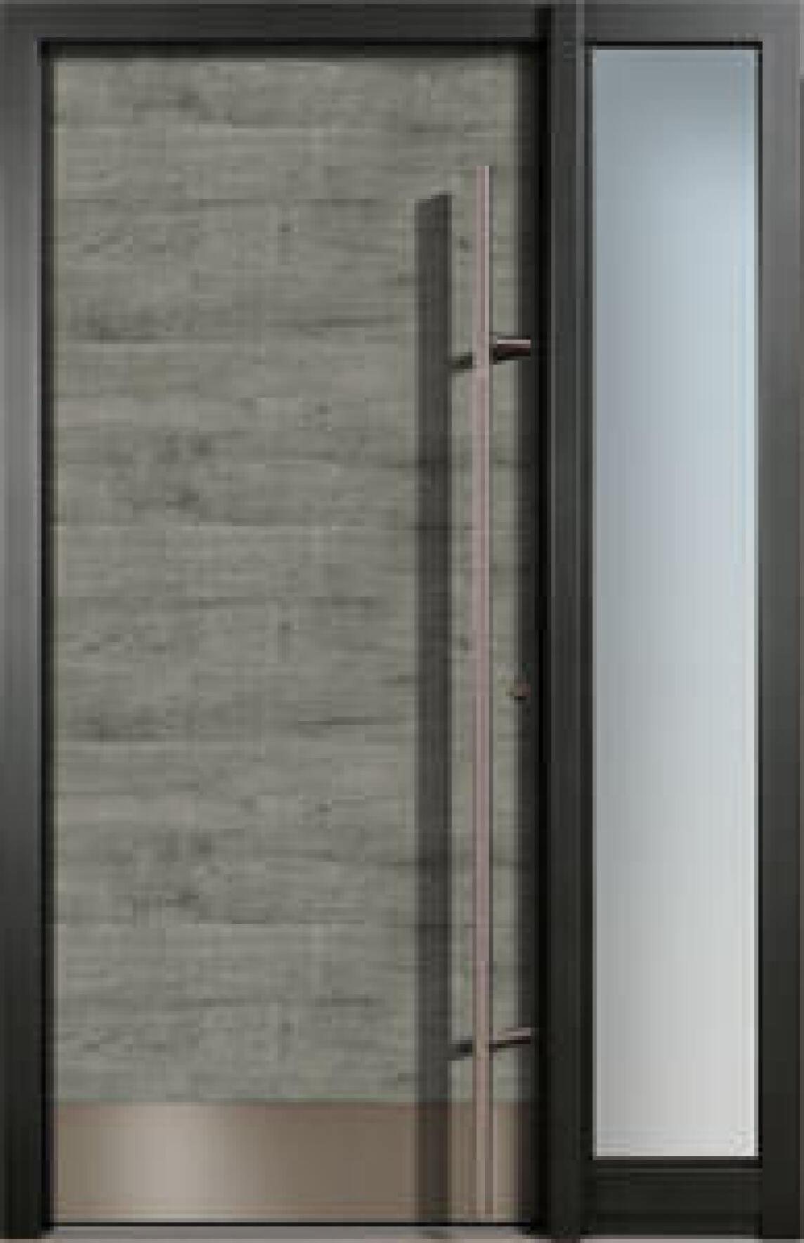 """Eingangstüren glas  Nachschub für Finstrals Aluminium-""""Architect""""-Haustüren ..."""