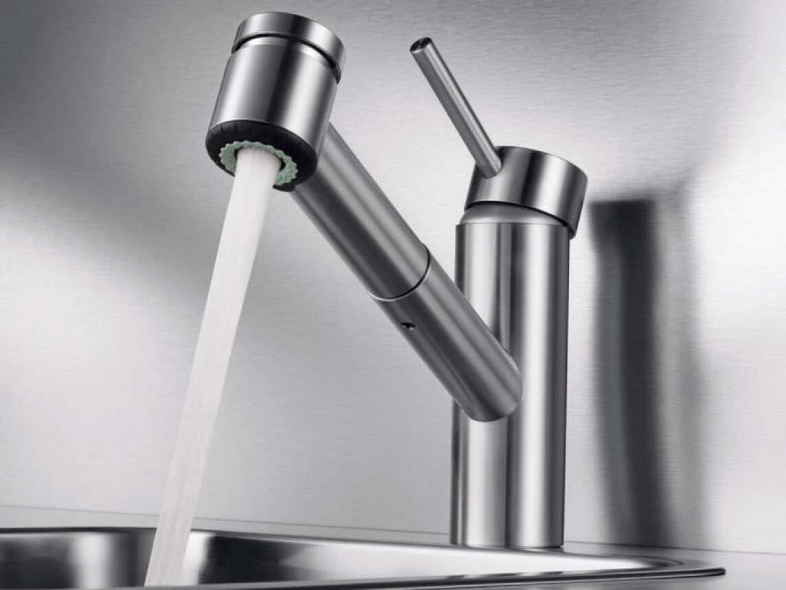 Küchenarmaturen: Edel und stahlhart im Nehmen