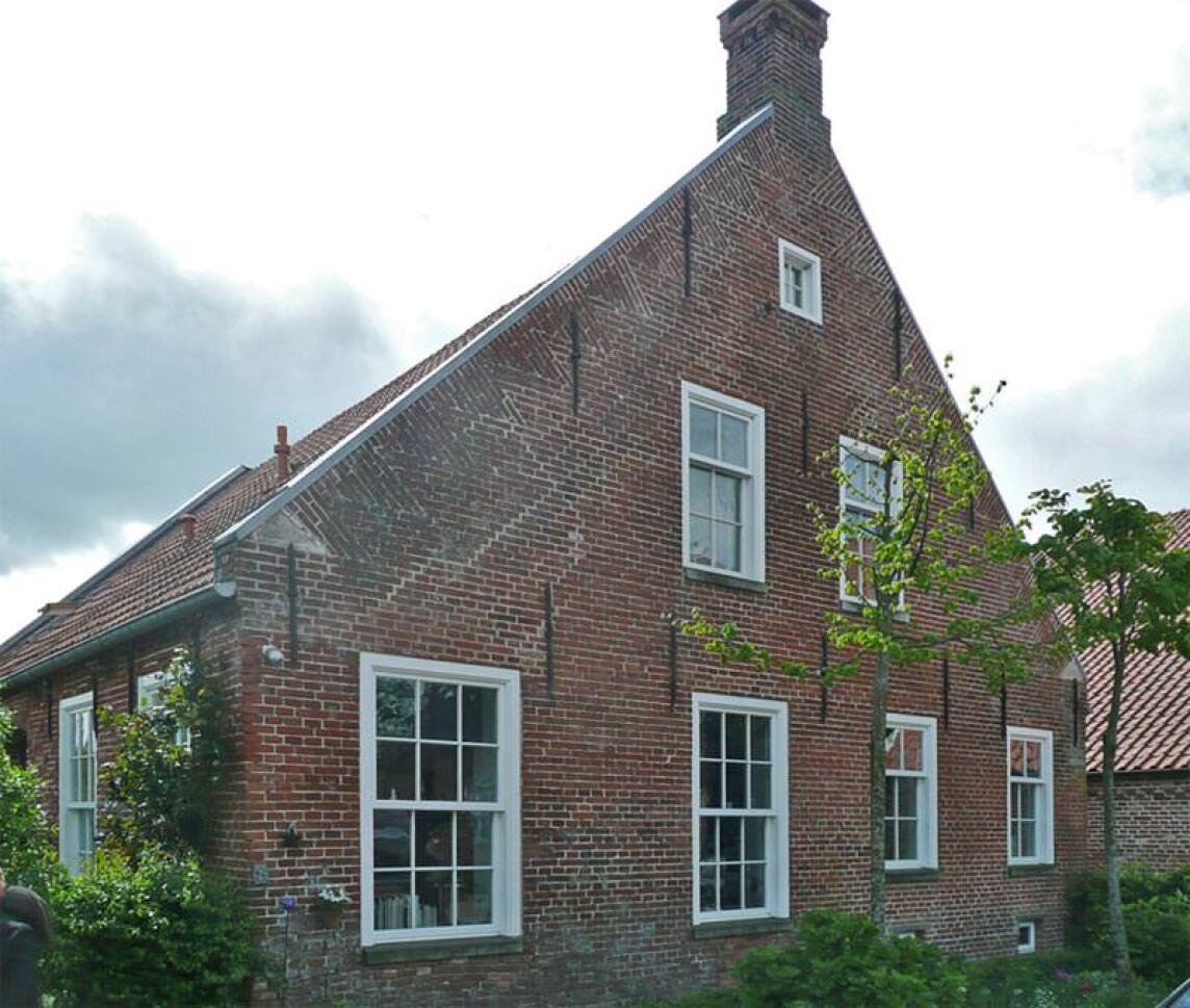 Pastorenhaus in Westoverledingen in Ostfriesland