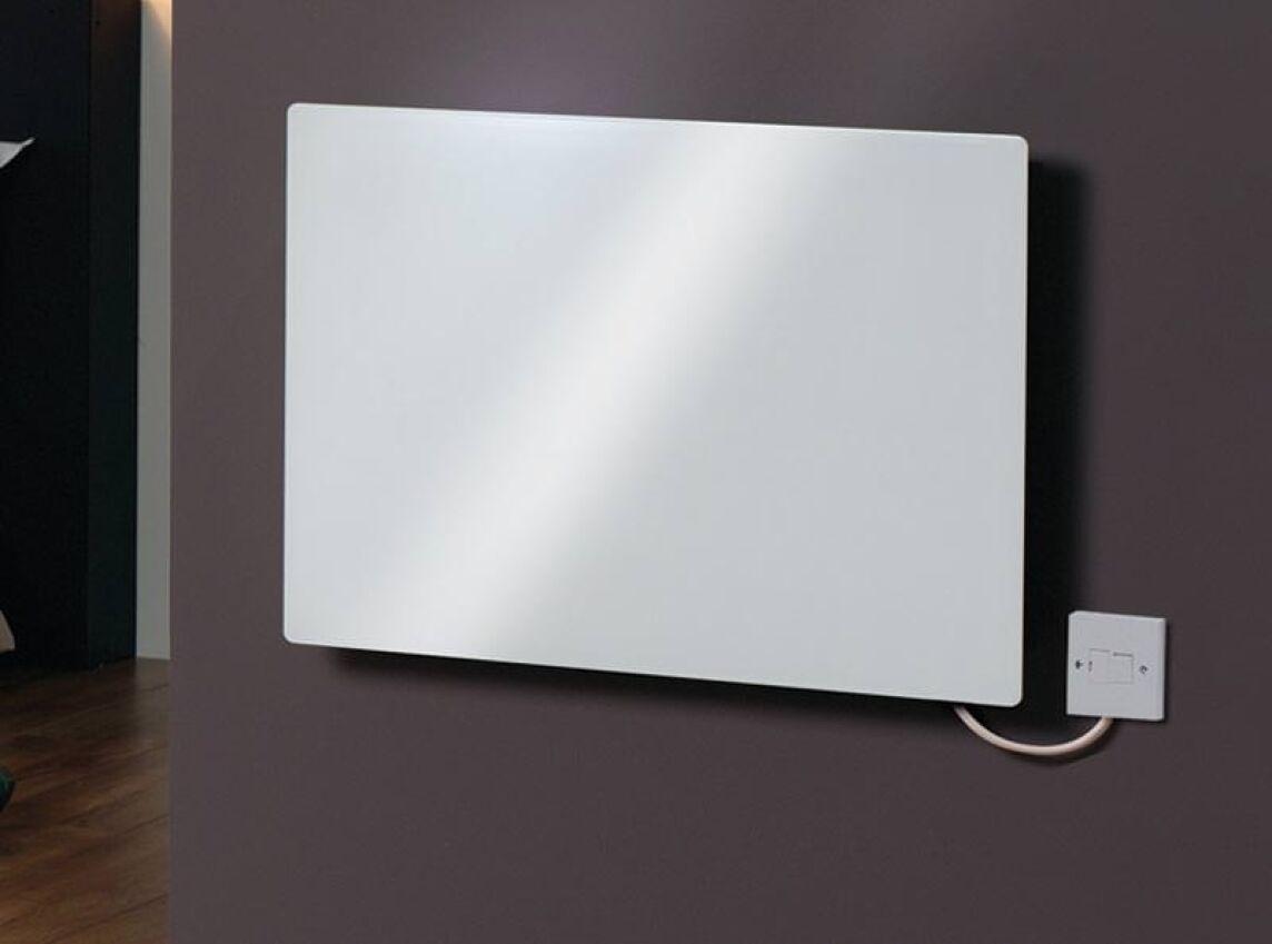 Schlichte Design-Wandkonvektoren aus Metall und Glas
