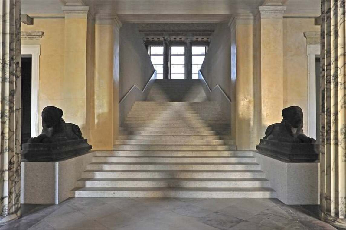 Neues Museum, Vestibül