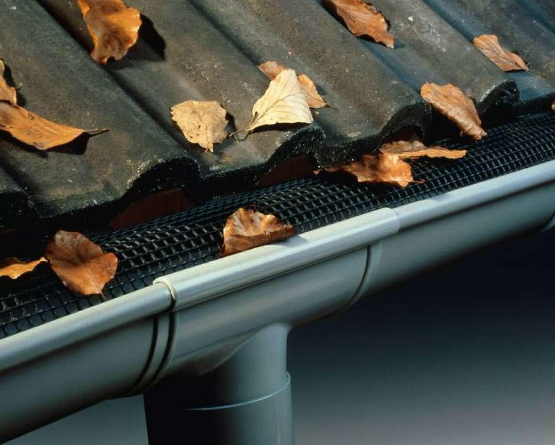 laubschutzgitter für funktionstüchtig dachrinnen | laubstop für