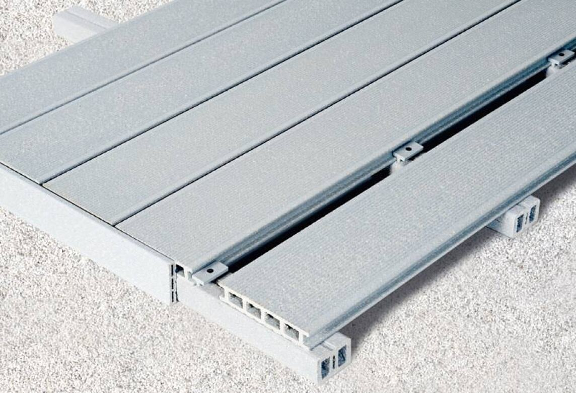 Holz Kunststoff Verbundmaterial für Terrassen len aus