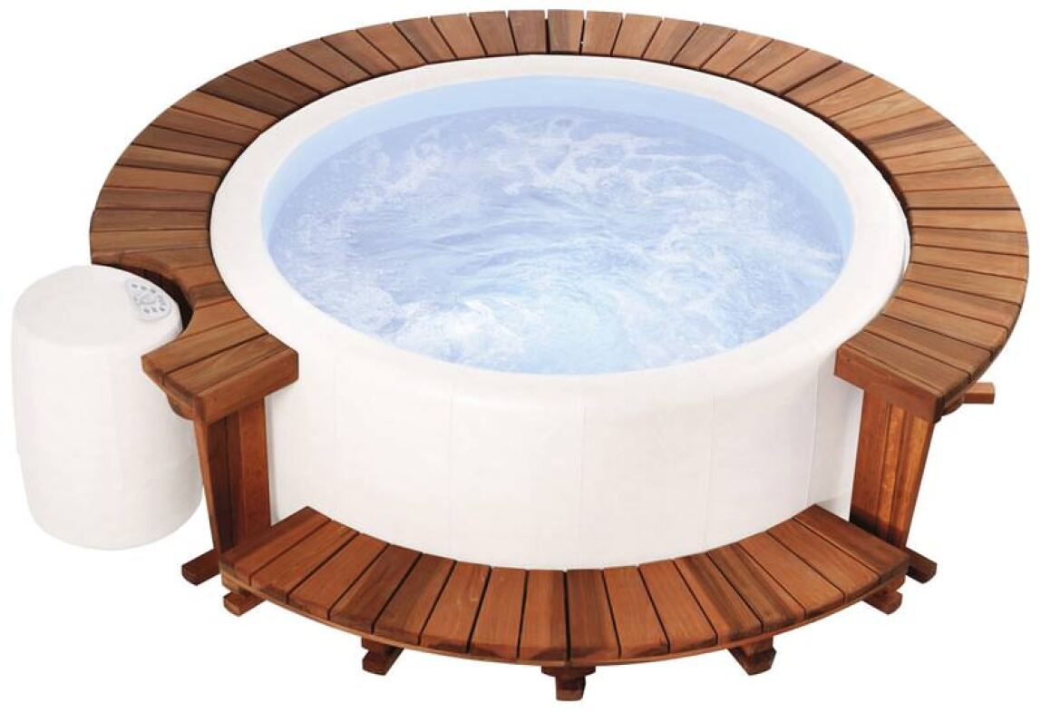 whirlpools energiesparend und ganzj hrig whirlpool test softub polybond leathertex. Black Bedroom Furniture Sets. Home Design Ideas