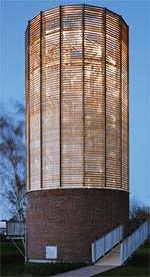 Aussichtsturm Landesgartenschau Schleswig, Petersen Pörksen Partner Architekten + Stadtplaner BDA, Lübeck
