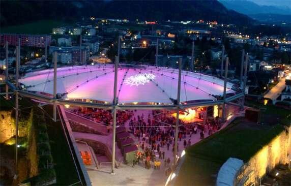 Festungs Arena Kufstein - Wandelbares Dach, Kugel + Rein Architekten und Ingenieure, Stuttgart