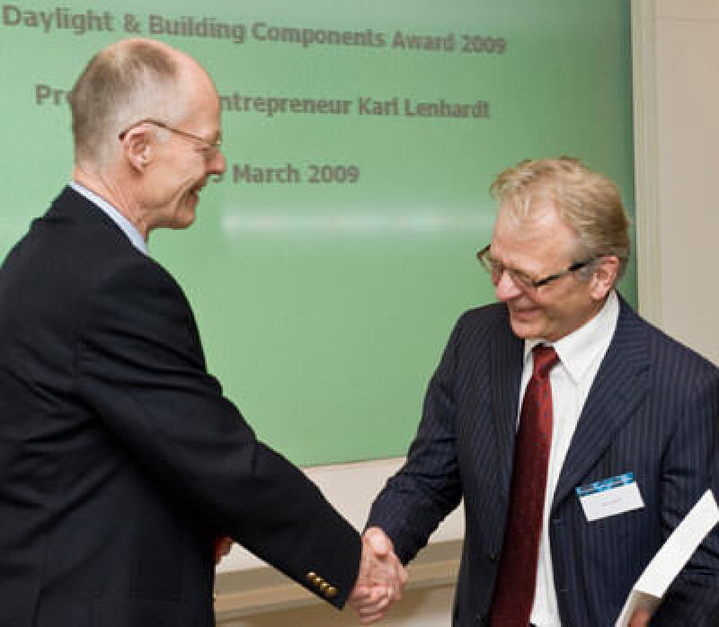 Lars Kann-Rasmussen, Karl Lenhardt, Daylight and Building Component Award, Tageslicht-Award