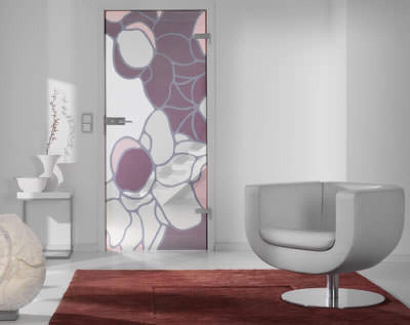 Art-Glastür von Stefan Schiek