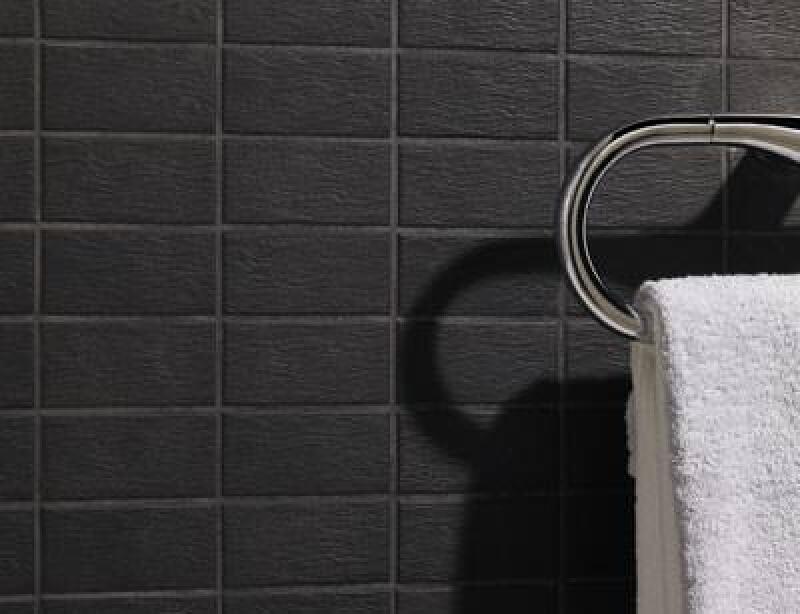 minimalistische fliesen mit strukturen vitra siluette. Black Bedroom Furniture Sets. Home Design Ideas