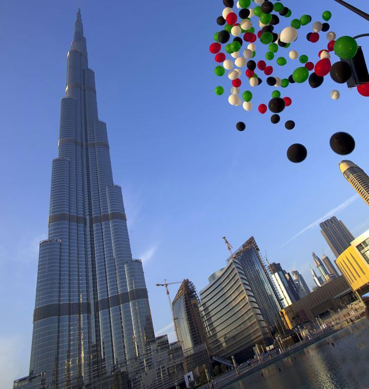 Burj khalifa mit 828 metern das höchste gebäude der welt