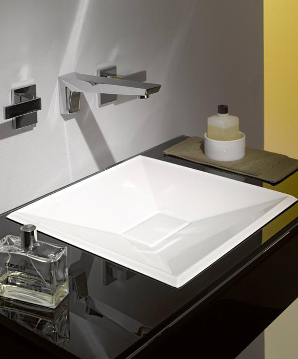 crystalline von alape hat sandd nen als vorbild einbaubecken aufsatzbecken. Black Bedroom Furniture Sets. Home Design Ideas