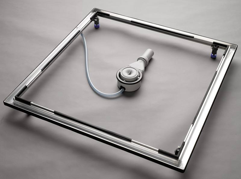 neuer einbau system rahmen esr ii von kaldewei bodengleiche duschen einbauen. Black Bedroom Furniture Sets. Home Design Ideas