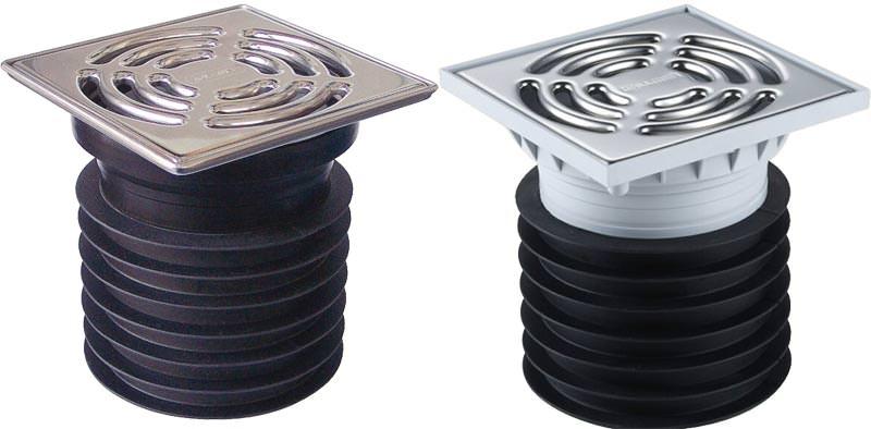 einfach einstecken unkomplizierter ablauf f r garten und keller regenwasserablauf gully. Black Bedroom Furniture Sets. Home Design Ideas