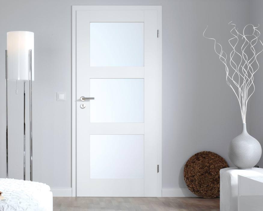 Türblatt weiß  Altera - weder glatt weiß noch klassische Füllungstür | weiße ...