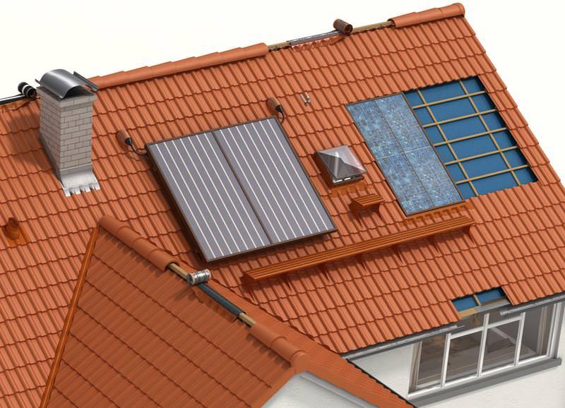 solaranlagen sicher auf dem dach befestigen. Black Bedroom Furniture Sets. Home Design Ideas
