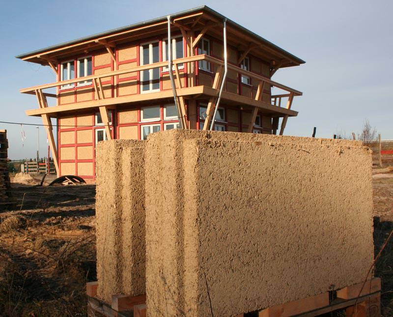 fachwerk 2 0 mit industriell vorgefertigten lehm hanf bauplatten lehmbauplatten hanf bauplatten. Black Bedroom Furniture Sets. Home Design Ideas