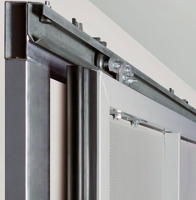 schiebetor st 500 f r sammelgaragen breites tiefgaragentor mit torantrieb supramatic h. Black Bedroom Furniture Sets. Home Design Ideas