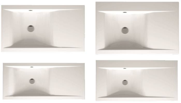 Neue Bette-Waschtischserie orientiert sich am Schwung einer Welle | {Doppelwaschtisch welle 36}
