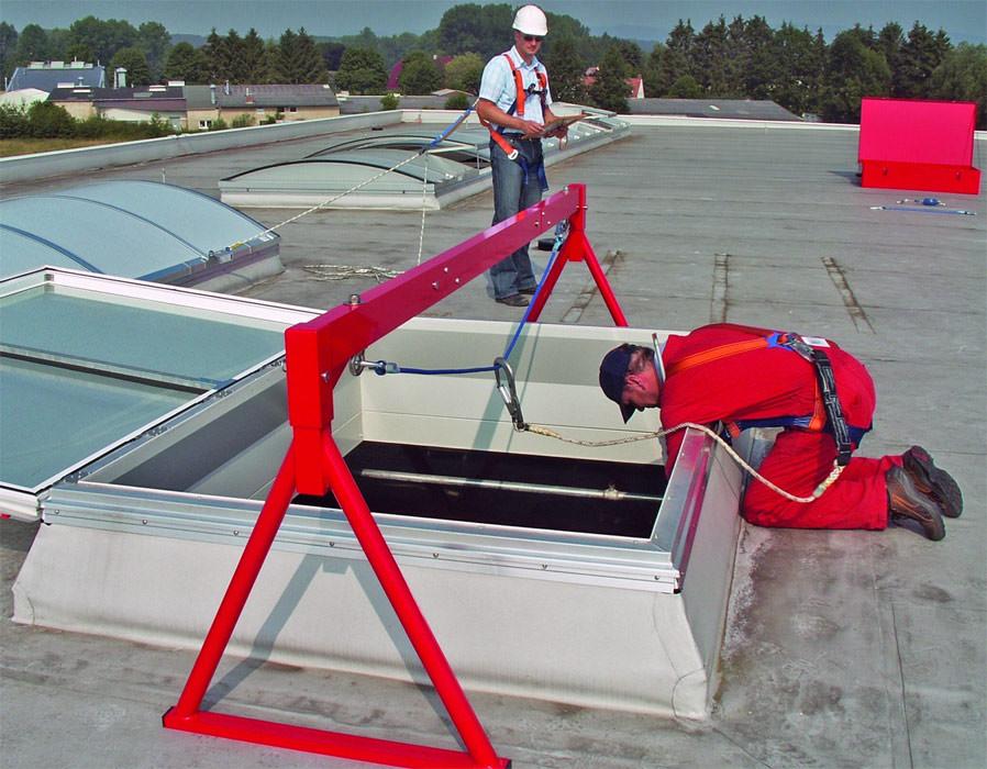 Gepr fte durchsturz sicherheit f r bestehende lichtkuppeln jet safety set - Euskirchen mobel ...