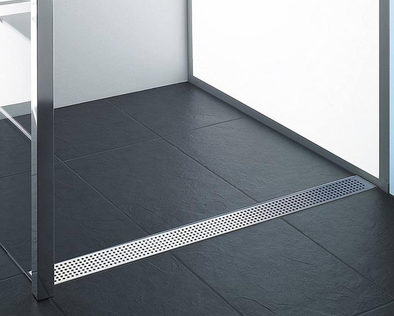 aco lanciert duschrinne showerdrain c line als. Black Bedroom Furniture Sets. Home Design Ideas