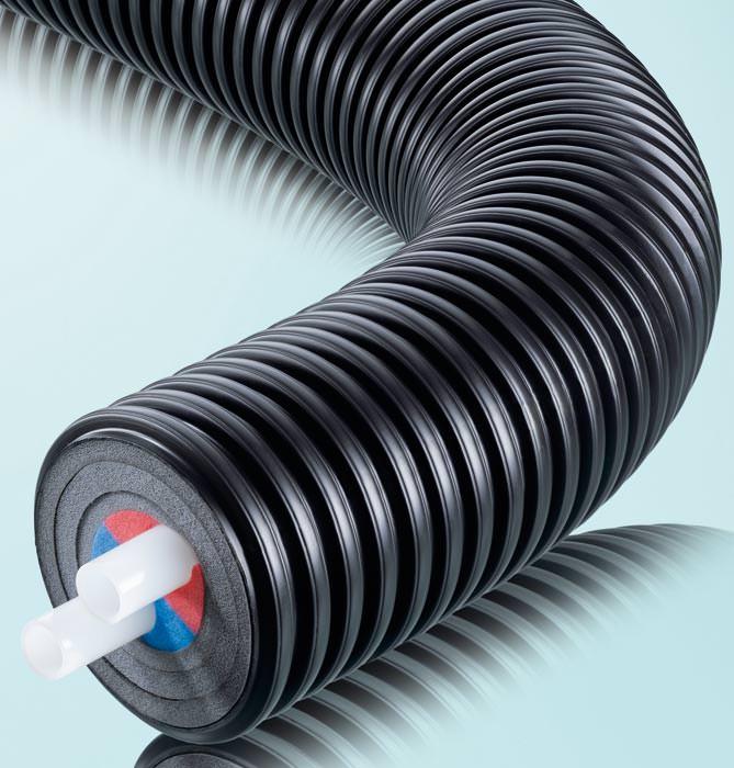 vorged mmte ecoflex rohre mit verbesserter d mmwirkung erdverlegtes nahw rmerohr erdrohr. Black Bedroom Furniture Sets. Home Design Ideas