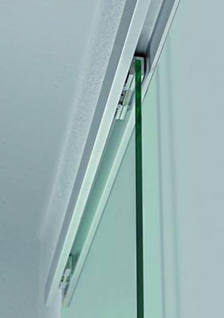 neues schiebet rsystem von geze mit einzugsd mpfung ganzglasschiebet r glasschiebeelement. Black Bedroom Furniture Sets. Home Design Ideas