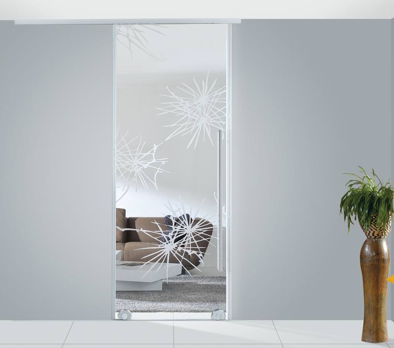 schiebet r in der wand laufend ohne zarge. Black Bedroom Furniture Sets. Home Design Ideas