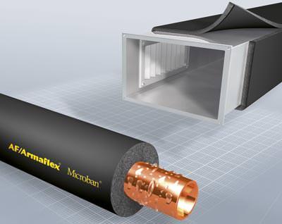Armacell-dämmstoff mit antimikrobieller microban-ausrüstung