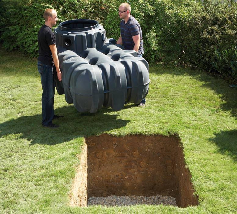 regenwasser flachtank und zwei personen platin regenwassertank zisterne. Black Bedroom Furniture Sets. Home Design Ideas