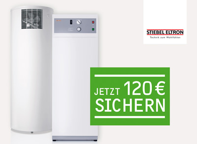 120 euro f r neue warmwasser w rmepumpen von stiebel eltron wwk 300 wwp 300 zur. Black Bedroom Furniture Sets. Home Design Ideas