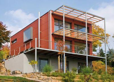 kologischer holz hausbau in jeder architektursprache anwendbar. Black Bedroom Furniture Sets. Home Design Ideas