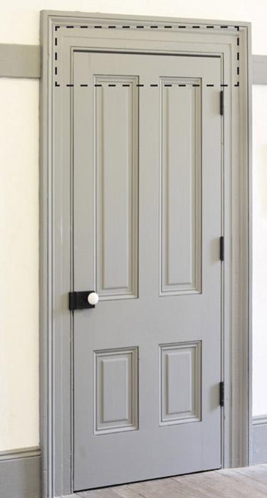 Tür einbauen  Lüftungsgitter für Türen | Türlüfter, Türfalzlüftung oder Türspalt