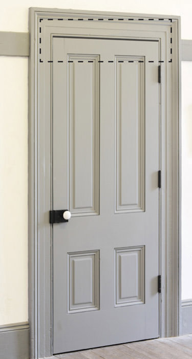 Innentüren hellgrau  Lüftungsgitter für Türen | Türlüfter, Türfalzlüftung oder Türspalt