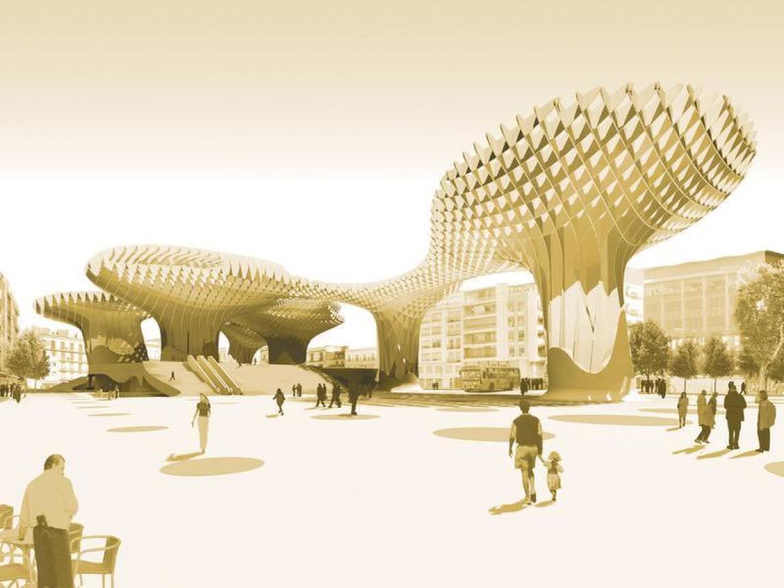 Metropol Parasols, das Herzstück der Plaza de la Encarnación in Sevilla