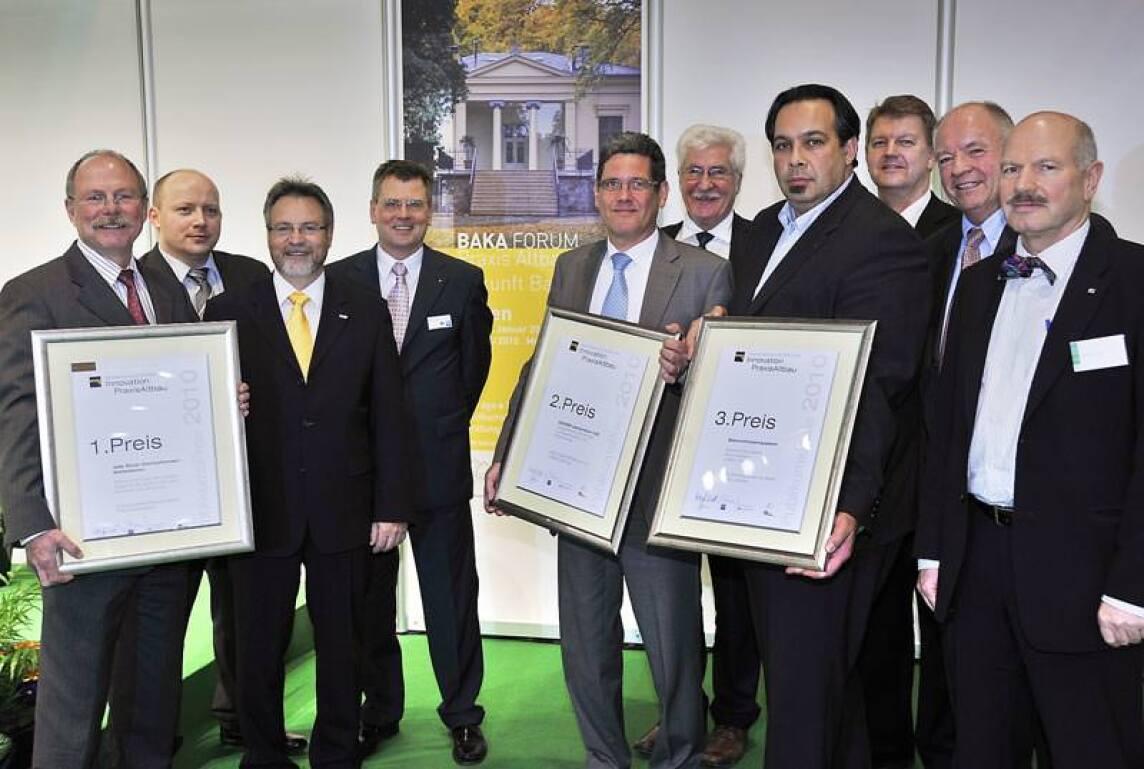 BAKA-Publikumspreis an Nelskamp, Isover und Isofloc