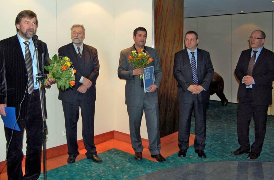 Betonwerksteinpreis 2010 geht an Ferdinand-von-Steinbeis-Schule