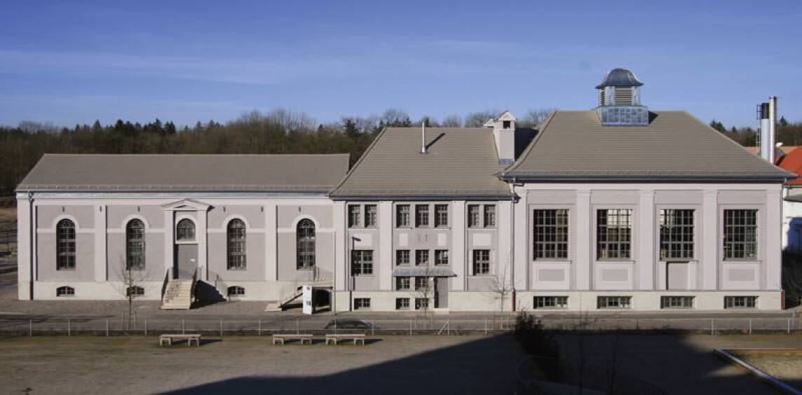 Architekt Paulus Eckerle, ehemalige Maschinenhalle