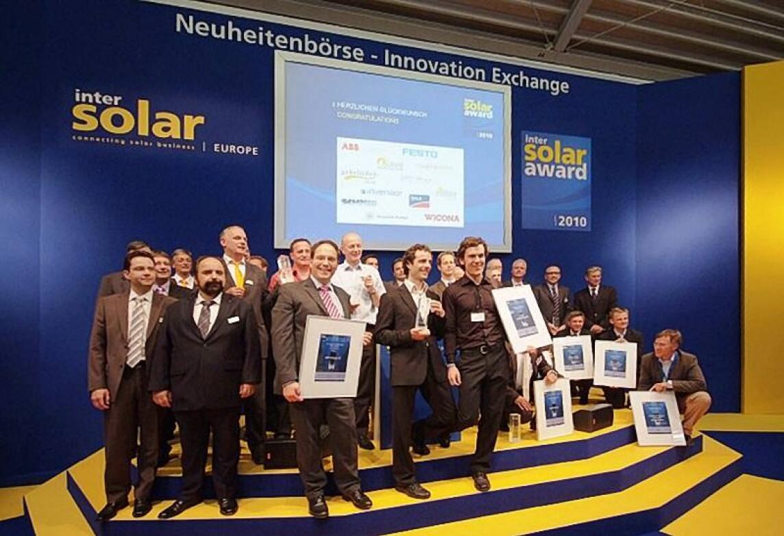 Gewinner des Intersolar AWARD 2010