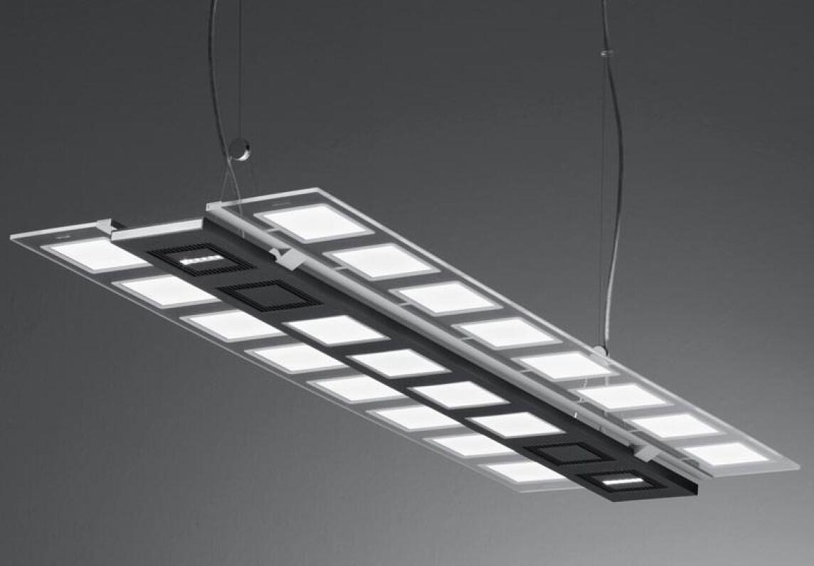 funktionst chtige oled leuchtenstudie von novaled und trilux fl chige lichtquellen. Black Bedroom Furniture Sets. Home Design Ideas